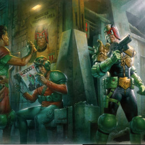 Remembering The Future – A 2000ad Retrospective