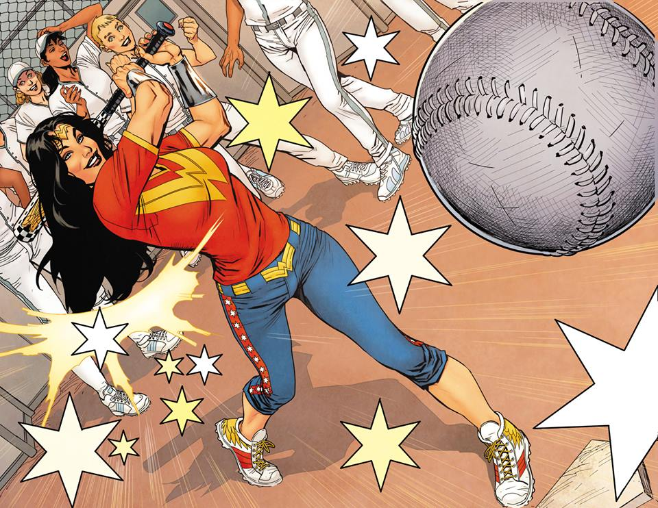 wonderwoman baseball