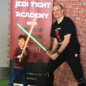 Jedi Fight Training Session 4 – with Andrew Lawden